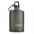 FREE MAN FM-610A High Purity Aluminum Outdoor Sports Water Bottle - Black (600ml)