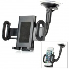 LSON 028I Adjustable Car Mount Holder for Cell Phone - Black