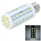 E27 5W 6500K 600lm 48-SMD 5060 LED White Decoration Lamp (85~265V)