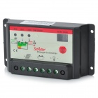 12V/24V 20A Solar Charge Controller - Black