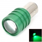 DIY Fast Strobe 1157 0.15W 8lm 550nm LED Green Light Motorcycle Brake Light - (DC 12V)