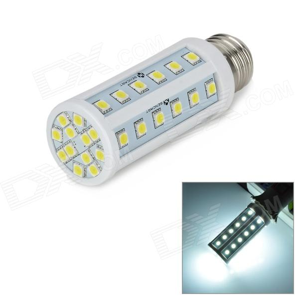 E26 24W 2160lm 6500K 48-5060 SMD LED White Lamp (85~265V) - DXE27<br>Model E26 Material PVC Color White Quantity 1 Emitter Type 5060 SMD LED Total Emitters 48 Power 24 W Color BIN White Rate Voltage 85~265 V Chip Working Voltage N/A Luminous Flux 2016~2160 lm Color Temperature 6500 K Wavelength No nm Connector Type E26 Packing List 1 x Lamp<br>