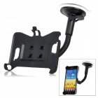 LSON Rotational Car Mount Holder w/ Suction Cup for Samsung i9220 - Black