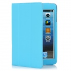 Protective PU Leather Case Stand for Ipad MINI - Blue