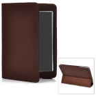 Protective PU Leather Cover Case Stand for Ipad MINI - Brown