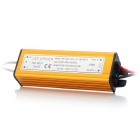 Water Resistance 13~18 x 1W LED Constant Current Source Power Supply Driver - Golden (90~265V)