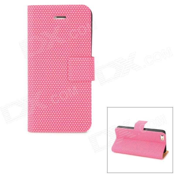 все цены на Stylish Protective PU Leather Case for Iphone 5 - Deep Pink онлайн