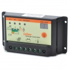 12V/24V 10A Solar Charge Controller - Black