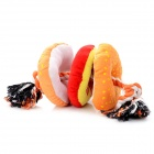 Cotton Rope 3-doughnut Style Pet Toy