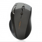 Genuine Rapoo 7800p 5GHz Wireless 800/1600DPI USB Laser Mouse w/ Receiver - Black (2 x AA)