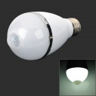 E27 5W 460lm 6500K 1-LED White Light IR Sensitivity Bulb - White (AC 100~240V)