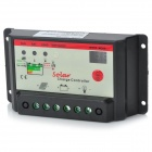 12V/24V 30A Solar Charge Controller - Black