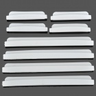 AD-0809 DIY Car Crash Barriers Door Guard Collision-Protection Strip Protectors - White (8 PCS)