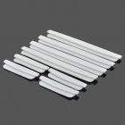 DIY Car Crash Barriers Door Guard Collision-Protection Strip Protectors - White (8 PCS)