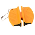 Mini Portable ABS Knife Sharpener for Camping - Yellow