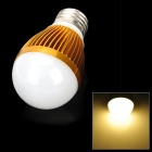 E26 6W 540lm 3500K Warm White 12-SMD 5060 LED Light Bulb - Golden (85~265V)