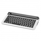 "M5B Slot Desktop Bluetooth v3.0 82-Key Keyboard for 7"" / 8"" / 9.7"" / 10.1"" Tablet - Black + White"