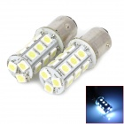 115750-18W 1157 / BAY15D 3.5W 200lm 18-SMD 5050 LED White Light Car Lamps - (DC 12V / 2 PCS)