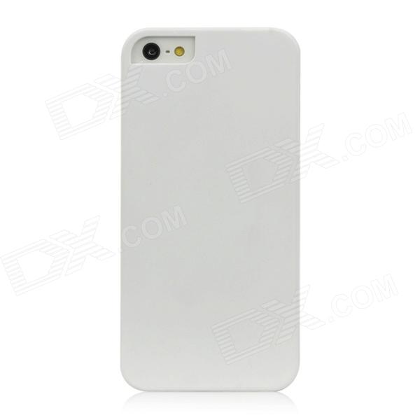 Protective Plastic Hard Back Case for Iphone 5 - White защитный чехол pacha sunrise cherries hard case для iphone 5