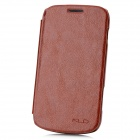 KALAIDENG Protective PU Leather Case for Sony Galaxy Trend Duos S7562 - Brown