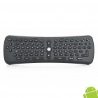 Mini 2.4GHz Wireless 78-Key Keyboard + Air Mouse w/ Gyroscope - Black (3 x AAA)