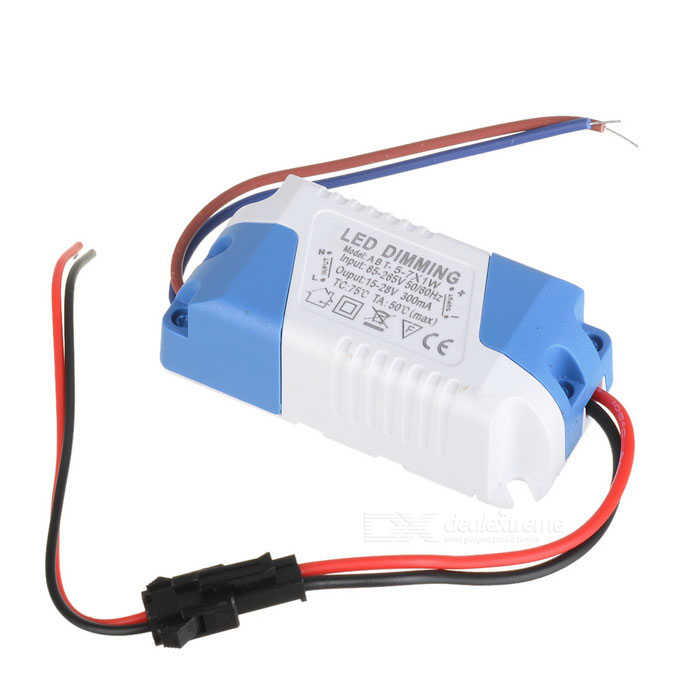 JR-(5-7) 7W LED Constant Current Source Power Supply Driver (85~265V) 56w led driver dc45 55v 1 2a high power led driver for flood light street light constant current drive power supply ip65