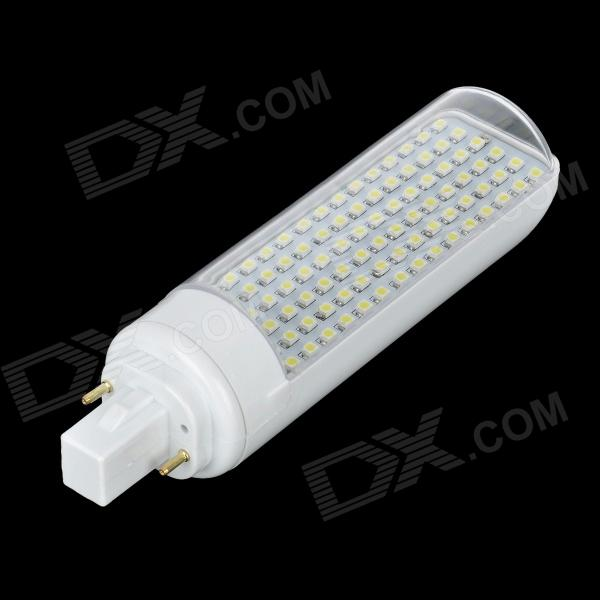 G24 7W 360lm 650K 90-SMD 3528 LED White Light Lamp (85~265V)