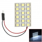 T10 / BA9S / Festoon 31mm~45mm 2.1W 220lm 18-SMD 5050 LED White Car Reading / Room Lamp (DC 12V)