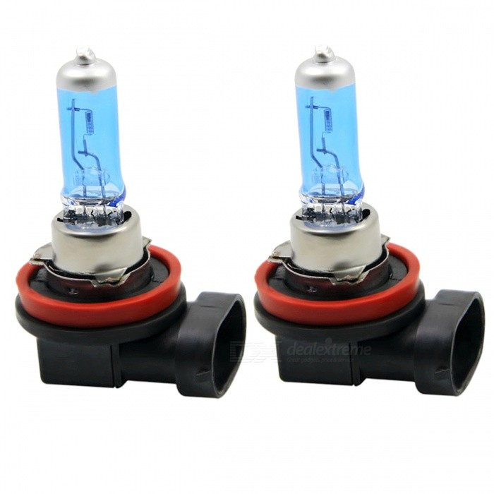 SENCART H11 47W 360lm Warm White Light Motorcycle Halogen Lamps / Headlamp / Driving Lamp / Foglight