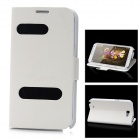 Alis Protective PU Case for Samsung N7100 - White