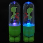 Romantic RGB Light Sound Activated Couple Lamps - Green (Pair / 3 x AG13)