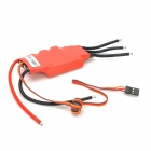 UBEC-75A Dual-Direction Water Cool Electronic Motor Speed Controller for R/C Boat Model - Red