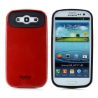 Cool Protective Plastic Back Case for Samsung Galaxy S3 i9300 - Red