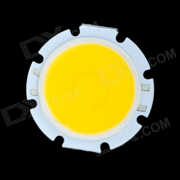 DIY 3W 11V 240lm 3300K Warm White Light COB LED Module - White + Yellow e14 3w 240 270lm 3000k 3500k candle style warm white light bulb