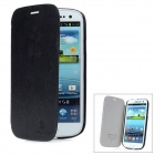 NILLKIN Protective PU Leather Case for Samsung Galaxy S3 i939D - Black