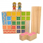 XiaoGuaiDan Small Engineer Logical Building Blocks Toy Set - Multicolored