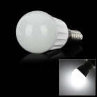 E14 4W 320lm 6500K LED White Light Bulb (220 ~ 260V)