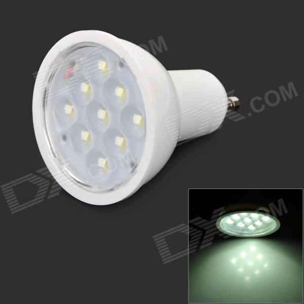 G10 3W 200lm 6500K 9-SMD 2835 LED White Light Bulb - White (AC 85~245V)