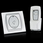 FK-921A Digital Wireless Remote Control + Switch Set - White + Silver
