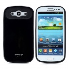 Protective Plastic Case for Samsung Galaxy S3 i9300 - Black