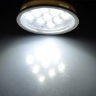 E27 3W 6500K 200lm 9-SMD 2835 LED White Spotlight (85~245V)