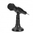 CY-501 Desktop Multimedia Microphone - Black (3.5mm Plug / 185cm-Cable)