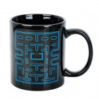 Pac-Man Game Color Changing Ceramic Mug - Black + Blue