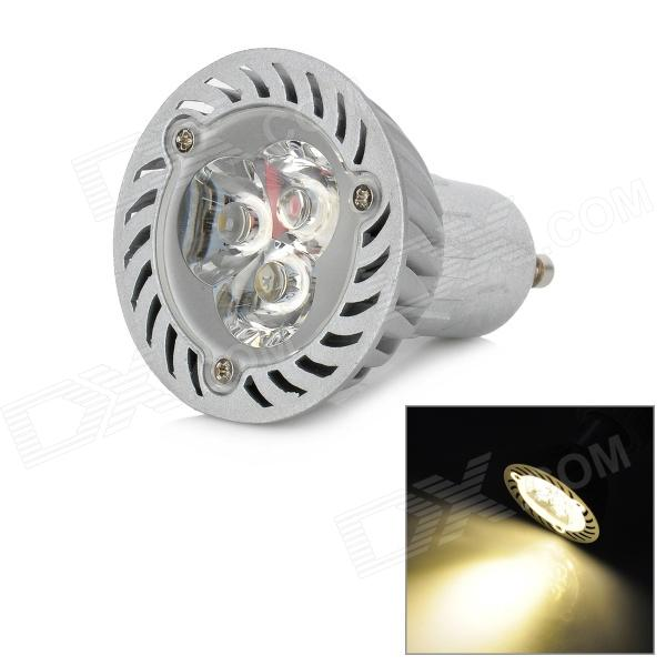GU10 3W 300lm 3500K 3-LED Warm White Lamp (AC 85~245V)