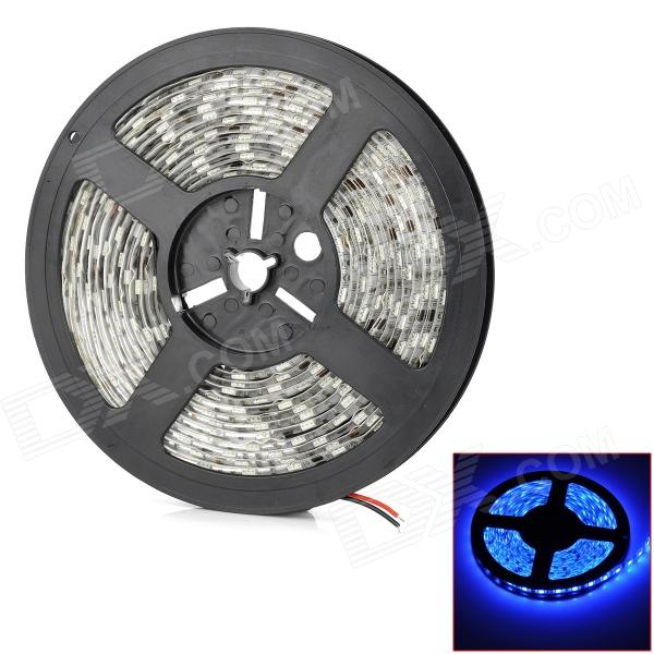 Waterproof 70W 2500lm 475nm 300-SMD 5050 LED Blue Car Flexible Lamp Strip (12V / 500cm)