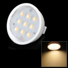 GU5.3 3W 200lm 3200K Über Weiß 9-SMD 2835 LED Light Bulb (12 ~ 24V)