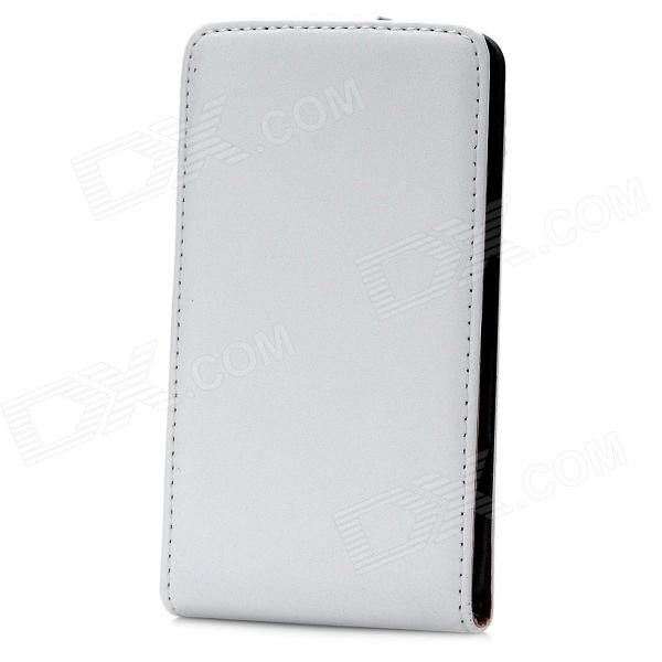 Protective Flip-Open PU Leather Case for Nokia Lumia 820 - White nillkin protective pu leather pc flip open case for nokia lumia 535 white
