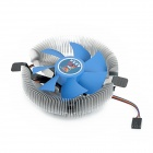Cooling A-18 Professional 7-Blade CPU Cooling Fan - Blue + Silver (25cm-Cable)