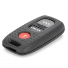 AML030830 Mazda Automobile 3-Button Remote Control Key Case - Black