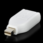 Adaptador Mini DisplayPort macho a HDMI - Blanco